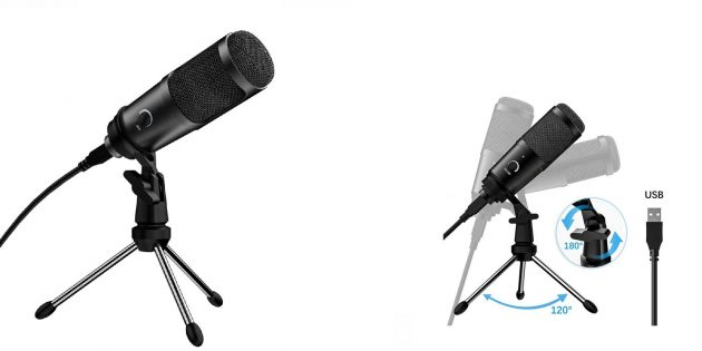 Полезные аксессуары для ноутбуков и десктопов: Микрофон