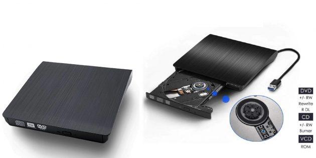 Полезные аксессуары для ноутбуков и десктопов: внешний дисковод