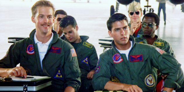 Кадр из фильма самолёты и лётчиков: «Лучший стрелок»