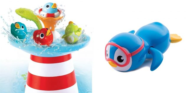 Что подарить сыну на Новый год: игрушка для ванной