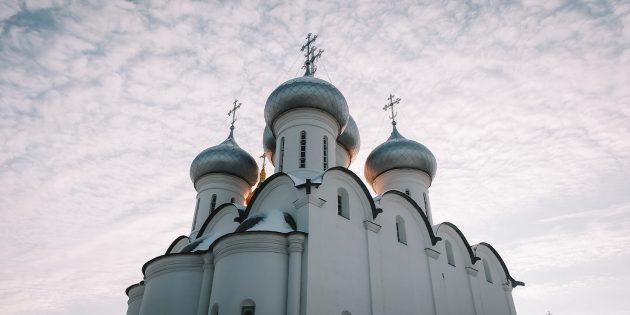 Путешествие по России зимой: Вологда