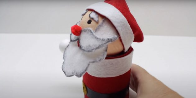 Как сделать Деда Мороза своими руками: поставьте голову на туловище