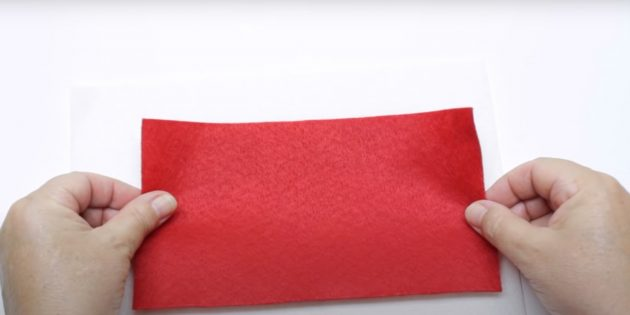 Как сделать Деда Мороза своими руками: приклейте фетр к фоамирану