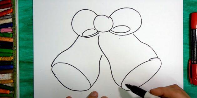 Нарисуйте колокольчики