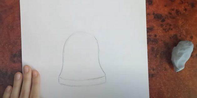 Нарисуйте две дуги