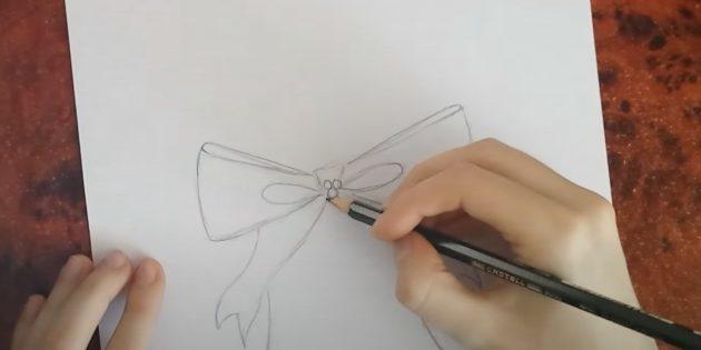 Нарисуйте две капли