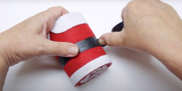 Как сделать Деда Мороза своими руками: сделайте ремень