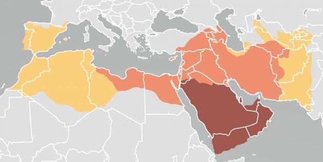 Крестовые походы: завоевания Арабского халифата