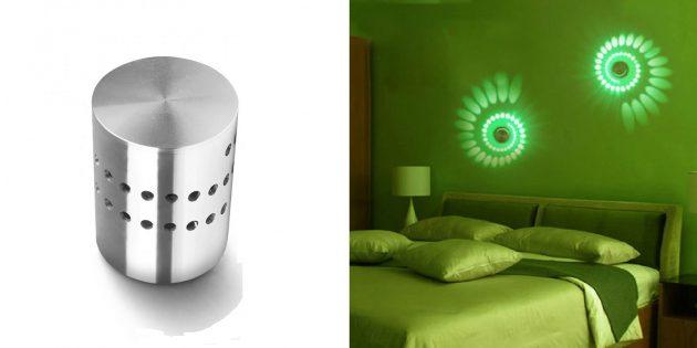 Как организовать освещение дома: декоративный светодиодный светильник