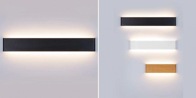 Как организовать освещение дома: минималистичное бра