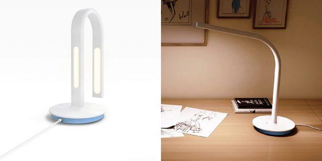 Как организовать освещение дома: гибкая настольная лампа с сенсорным управлением