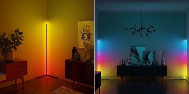Угловой RGB-светильник