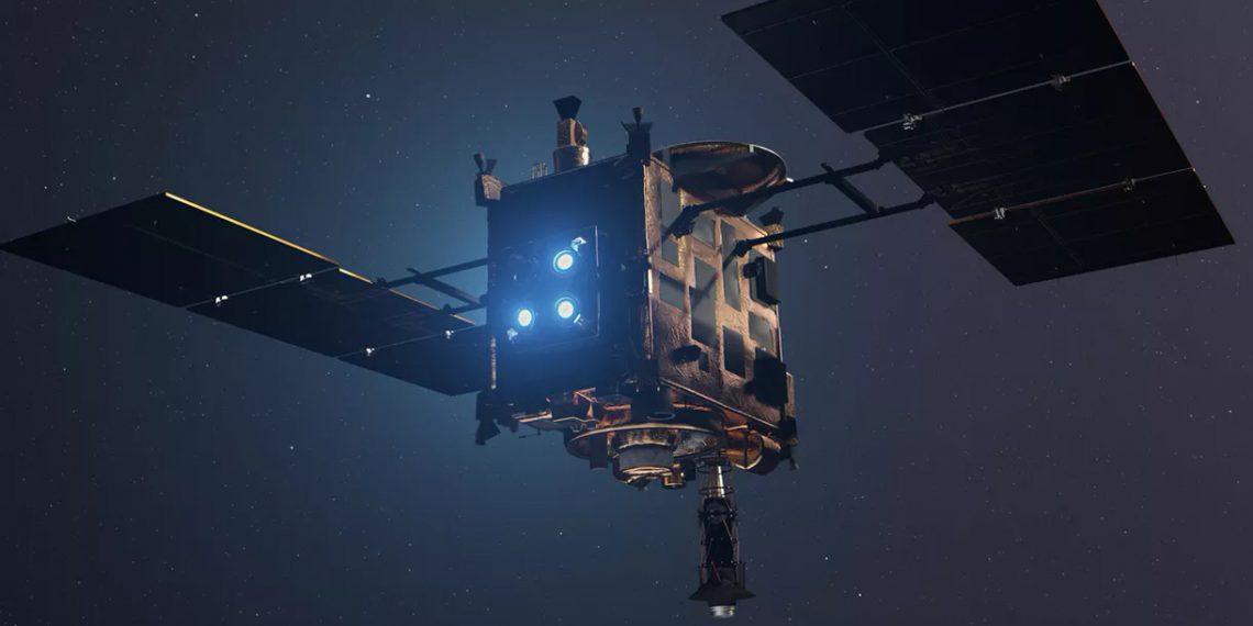 Японский зонд «Хаябуса-2» вернулся на Землю