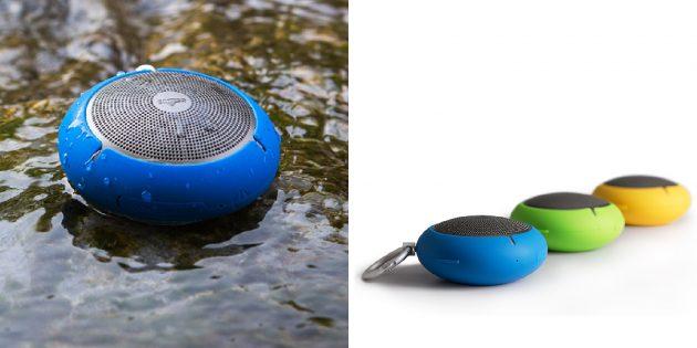 Акустика Edifier: водонепроницаемая Bluetooth-колонка