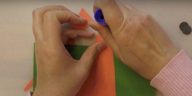 Как сделать Деда Мороза своими руками: нанесите клей
