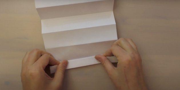 Как сделать Деда Мороза своими руками: сделайте сгиб