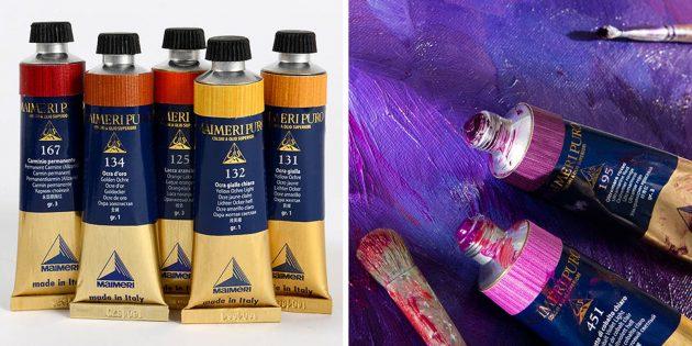 Масляные краски Maimeri