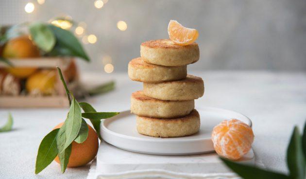 Сырники с мандаринами