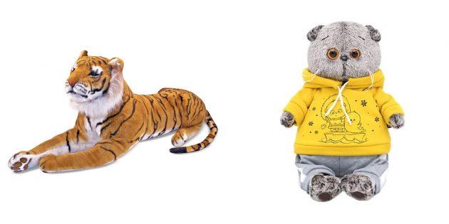 Что подарить сыну на Новый год: мягкая игрушка