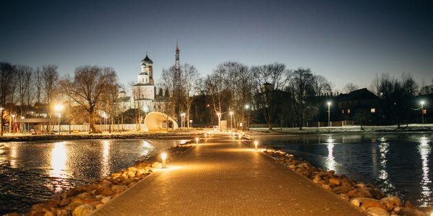 Путешествие по России зимой: Вышний Волочёк