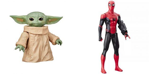 Подарки сыну на Новый год: Фигурки любимых персонажей
