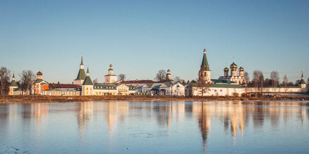 Путешествие по России зимой: Валдай
