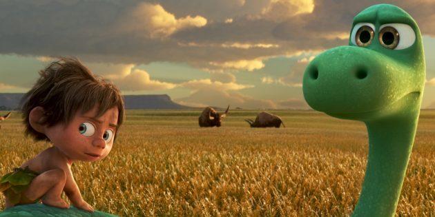 Мультфильмы Pixar: «Хороший динозавр»