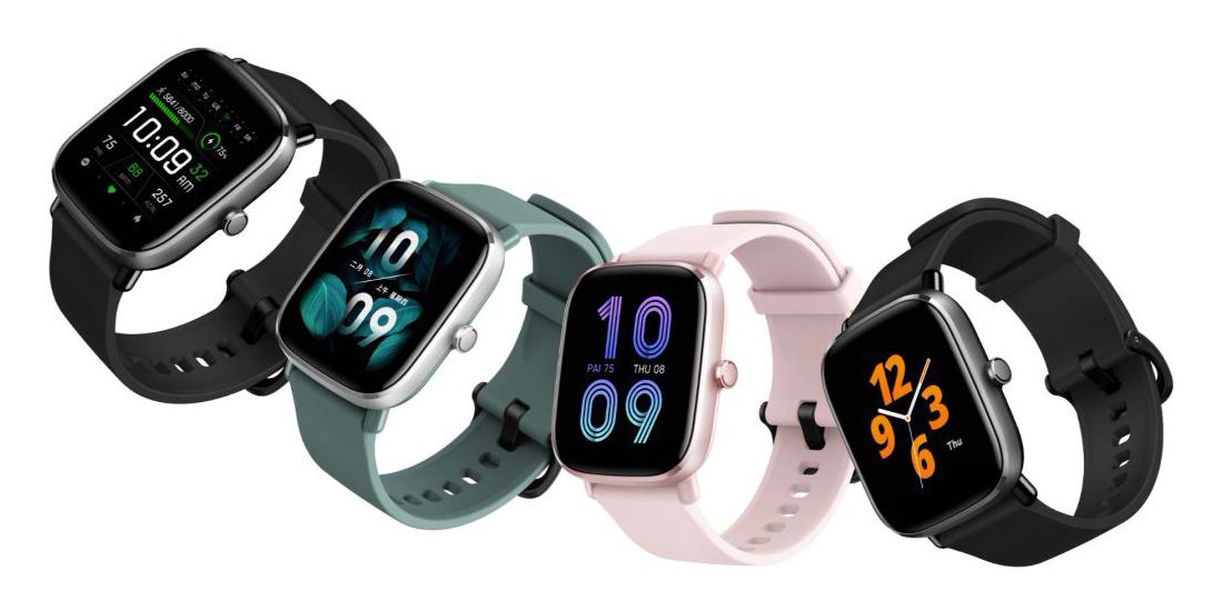 Huami представила доступные смарт-часы Amazfit GTS 2 mini и Bip U Pro