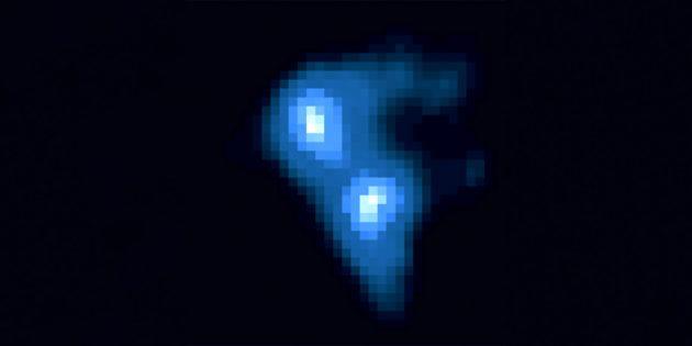 Космические явления: туча в космосе