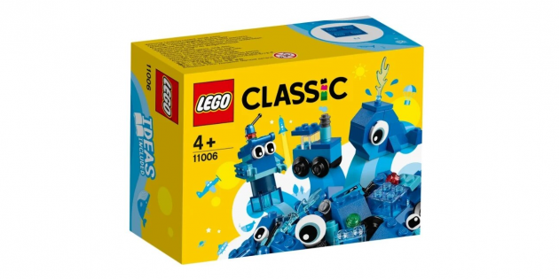 Конструктор LEGO Classic 11006 «Синий набор для конструирования»