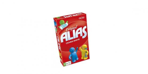 Недорогие подарки: настольная игра ALIAS