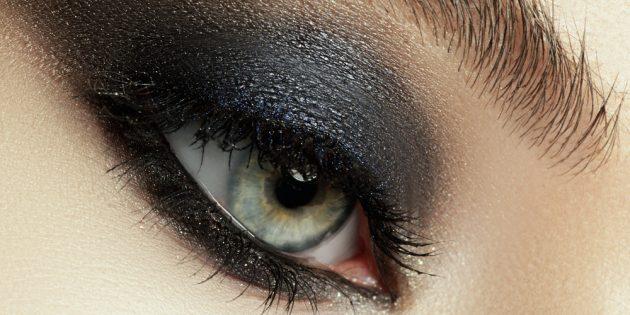 Вечерний макияж: смоки айс