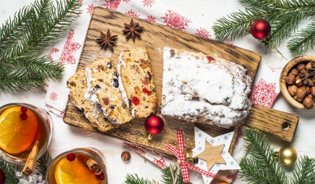 Штоллен — волшебный рождественский кекс с сухофруктами