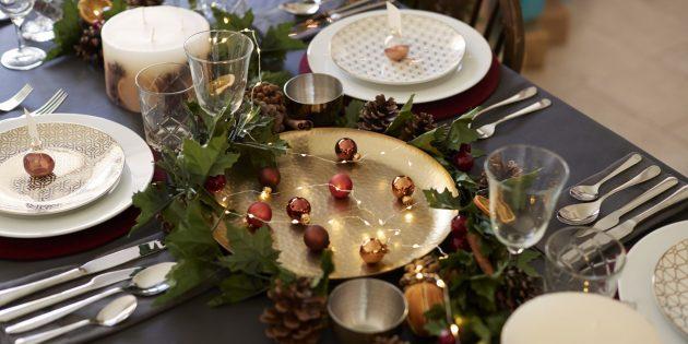 подготовка к новому году: продумайте сервировку стола