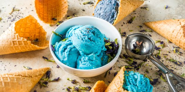 Мороженое с клиторией