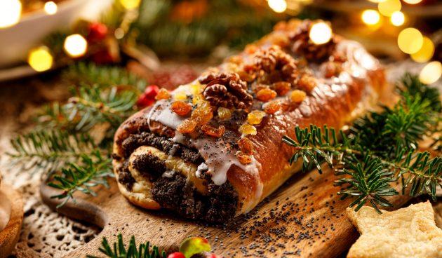 Маковец — польский рождественский рулет с маком