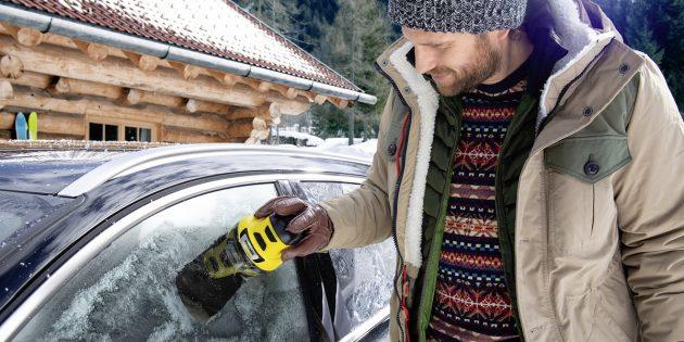 полезные подарки: электрический скребок для льда