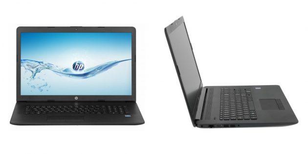 Недорогие ноутбуки: HP Laptop 17-by2026ur
