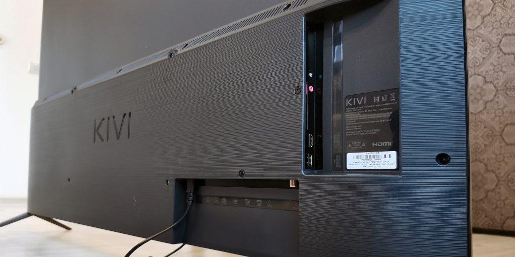 4К-телевизор KIVI 55U710KB: разъёмы