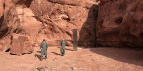 Найдены создатели загадочных стальных монолитов