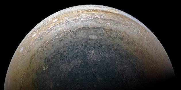 Южный полюс Юпитера
