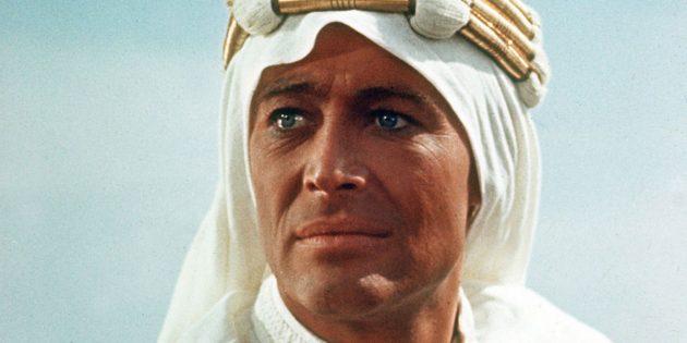 Кадр из биографического фильма «Лоуренс Аравийский»