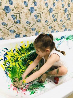 Постимпрессионизм для детей: бери краски и залезай в ванну