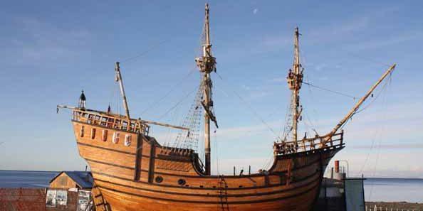 Современная копия корабля «Виктория»