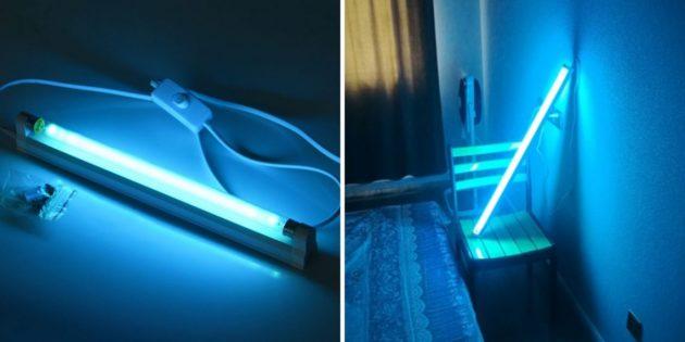 товары с AliExpress: лампа для кварцевания