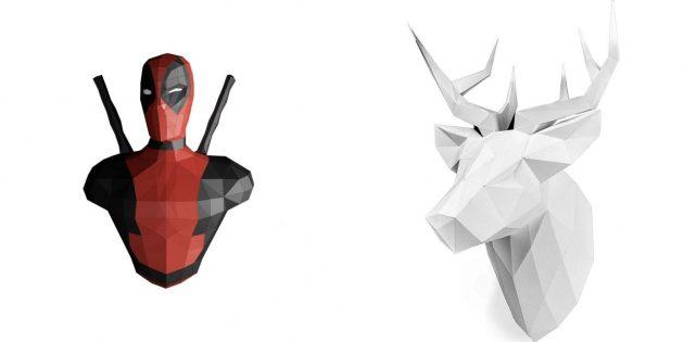 Бумажная 3D-модель