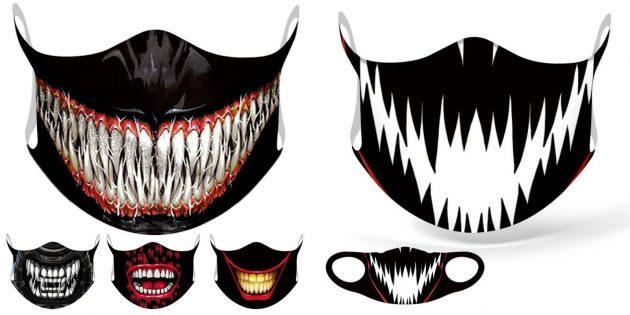 Многоразовые маски с AliExpress