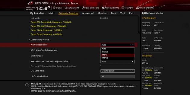 Разгон оперативной памяти: проверьте, поддерживает ли система XMT-профили