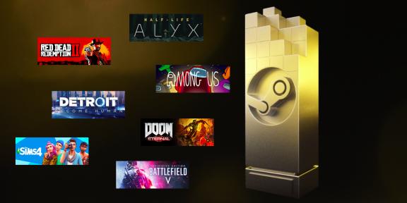 Valve объявила номинантов «народной» премии The Steam Awards 2020