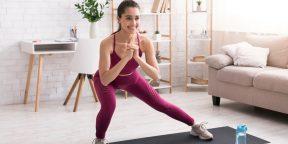 Тренировка дня: домашнее кардио на 5 минут